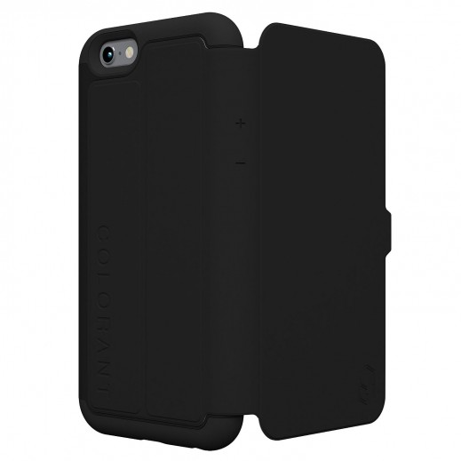Colorant C3 Slim Wallet Case For Iphone 6 Plus - Black
