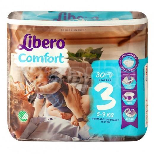 Libero Comfort Fit Diapers Size 3 (5 - 9 kg) 30 Pieces