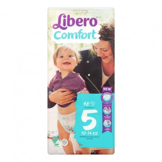 Libero Comfort Fit Diapers Size 5 (10 - 14 kg) 48 Pieces