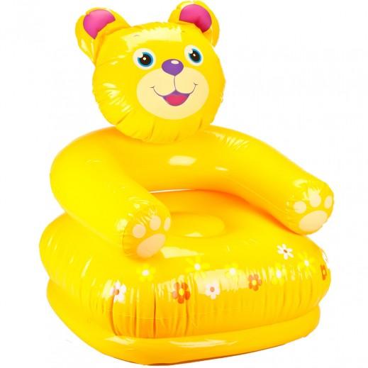 Intex Happy Animal Chair Bear 65 x 64 x 74cm