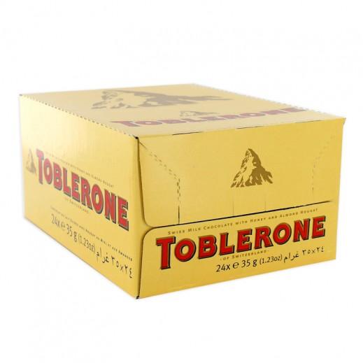 Toblerone Milk Chocolate 24x35 g