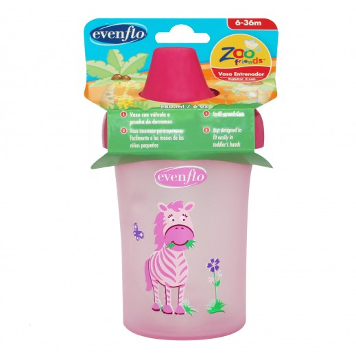 Evenflo Zoo Sippy Cup 180 ml