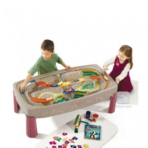 Step2 Deluxe Canyon Road Train & Track Table  - delivered by Shahaleel