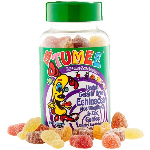 Mr.Tumee Echinacea Plus Vitamin C & Zinc Gumee 60 Pieces