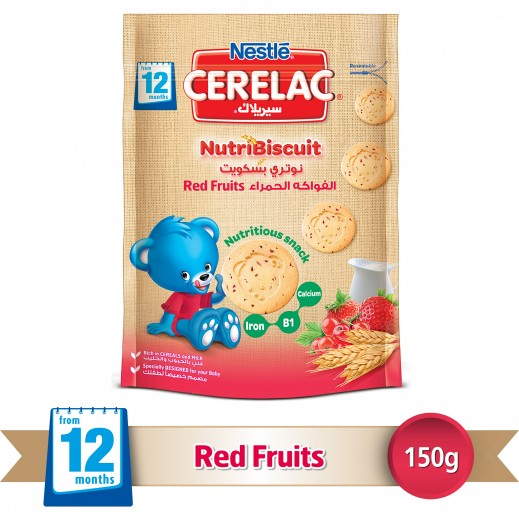Cerelac Nutribiscuit Red Fruits 150 g (From 12 Months)