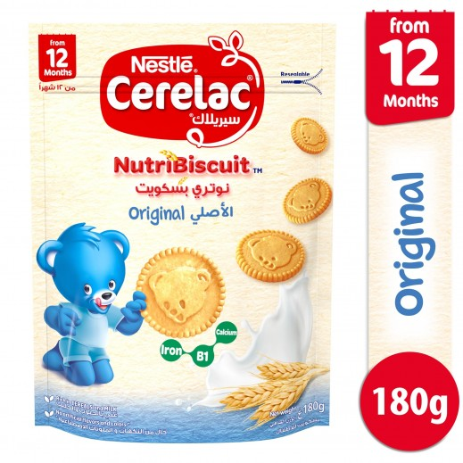 Cerelac Nutribiscuit Orginal 180 g (From 12 Months)