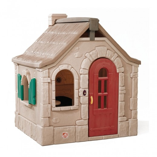 Step2 Naturally Playful StoryBook Cottage – Brown - delivered by Shahaleel After 2 Working Days