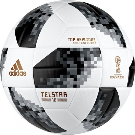 Adidas Telstar Fifa World Cup 2018 Russia FootBall Black&White Size 5
