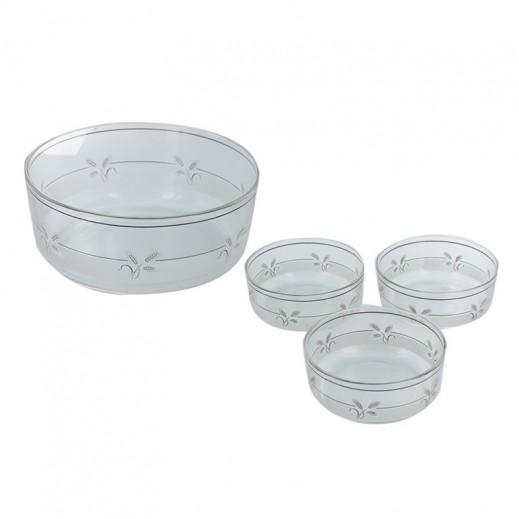 Decover Alighiery Designer Glass Bowl Set (7 pieces)