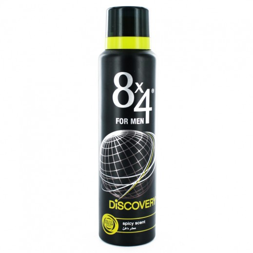 8X4 Deo Spray Discovery 150 ml