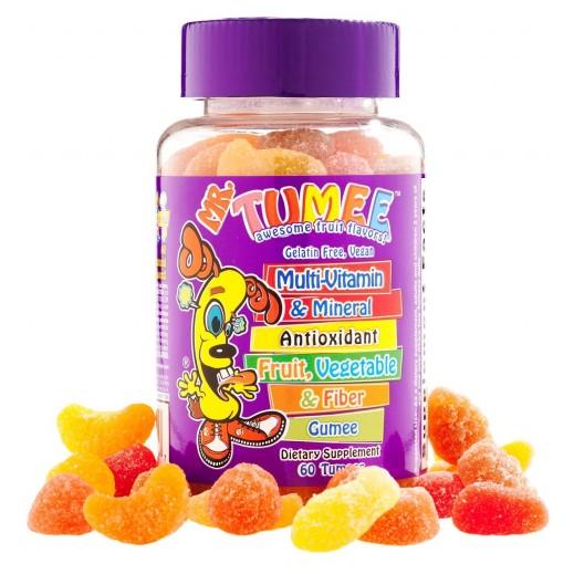 Mr.Tumee Multi Vitamin & Mineral Fruit,Vegetable & Fiber Gumee 60 Pieces