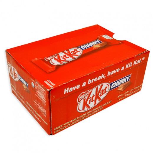 Kit Kat Chunky Chocolate 24 x 46 g