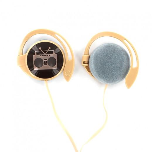 Stereo Headphones Disco Party