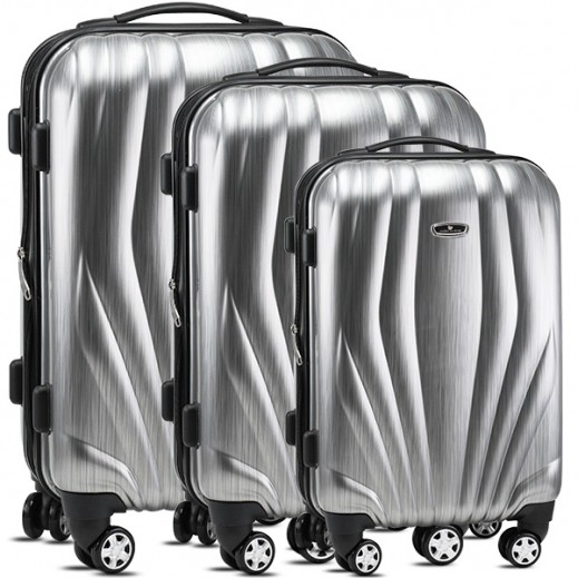 American Flyer 3 pieces Trolley Set - Grey