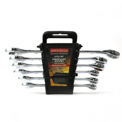 American Mechanics Spanner Combination 6 Pcs