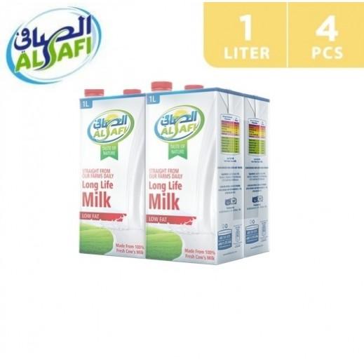 Al-Safi Low Fat Long Life Milk 4 x 1 L
