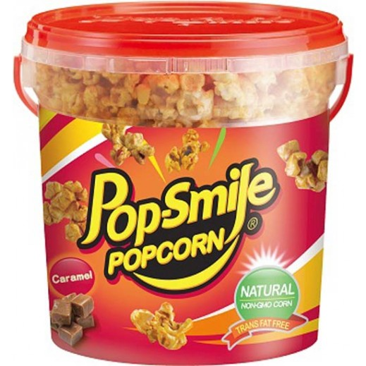 Pop-Smile Natural Popcorn Caramel Flavour 200 g