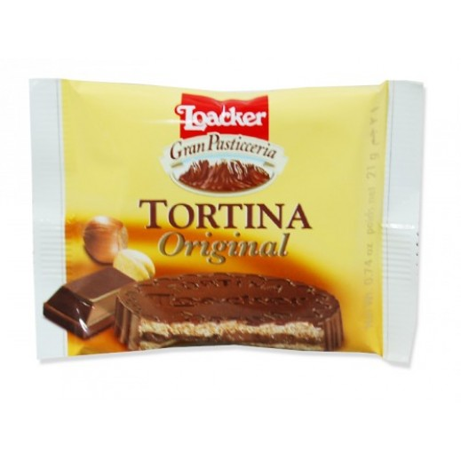Loacker Tortina Original Biscuit 21 g