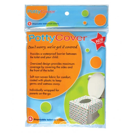 Potty Cover Disposable Toilet Seat Covers 6 Pieces