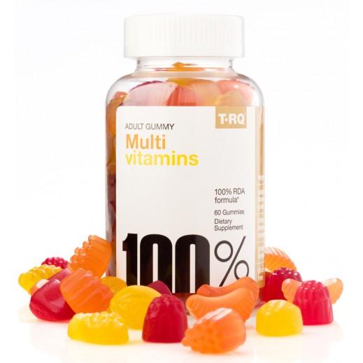 T-RQ Multi Vitamin Adult Gummy 60 Pieces