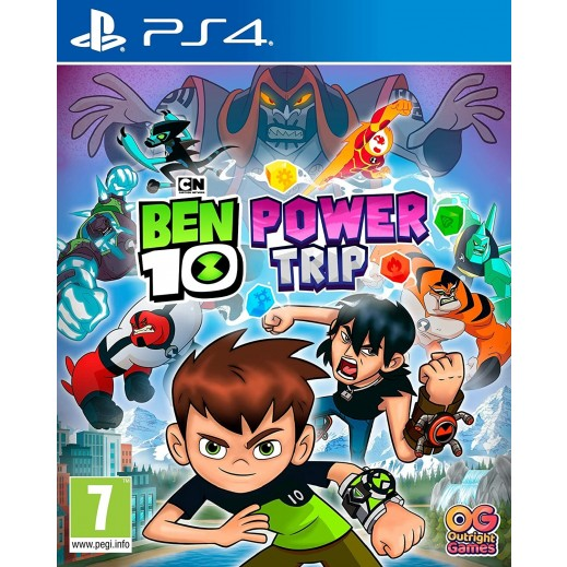 Ben 10 Power Trip for PS4 – PAL