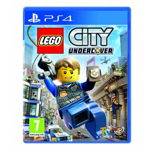 LEGO City Undercover for PS4 - PAL