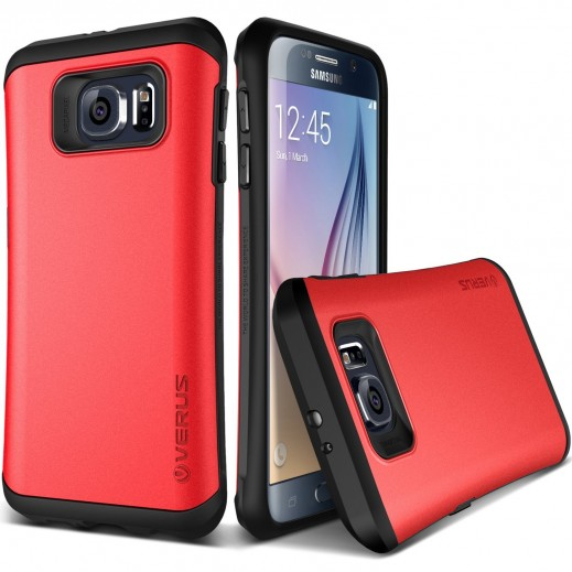 Verus Hard Drop Case For Samsung Galaxy S6 Red