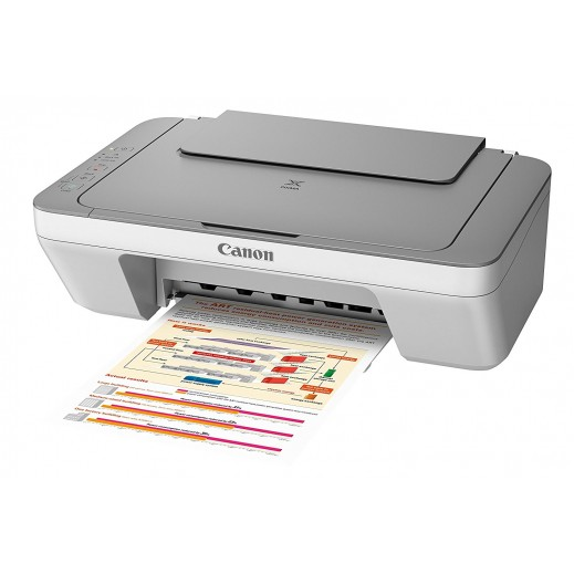 Canon PIXMA MG2540 3 in 1 Inkjet Printer – White