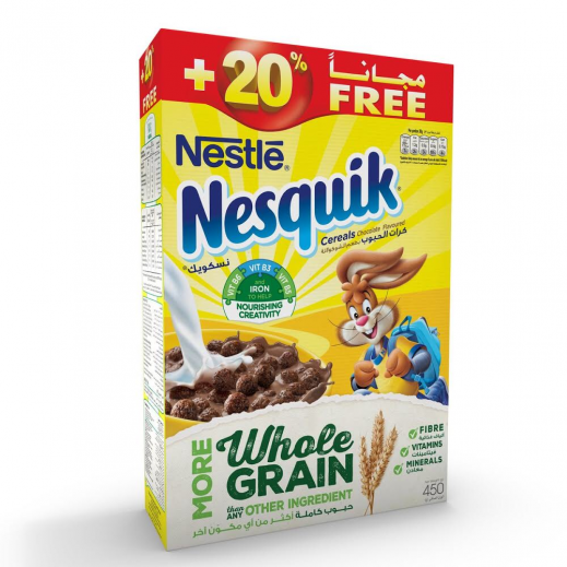 Nesquik Breakfast Cereal 450 g (20% Extra)