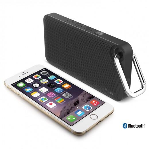 Iluv Portable Bluetooth Speaker Aud Mini Smart 6 - Black
