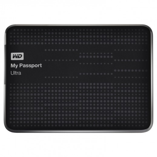 WD My Passport Ultra 500GB Black Portable Hard Drive