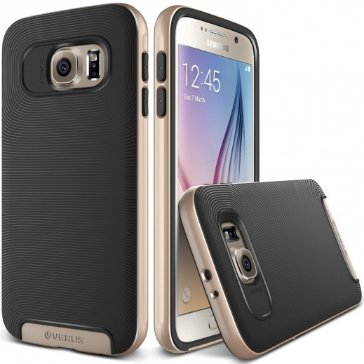 Verus Crucial Bumper Case For Samsung Galaxy S6 Gold