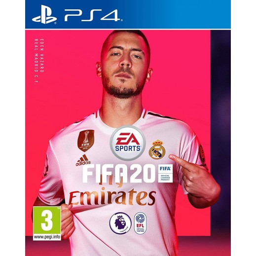 FIFA 20 Standard Edition for PS4 – PAL