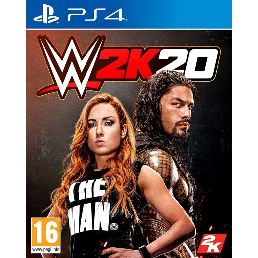 WWE 2K20 for PS4 – PAL Arabic