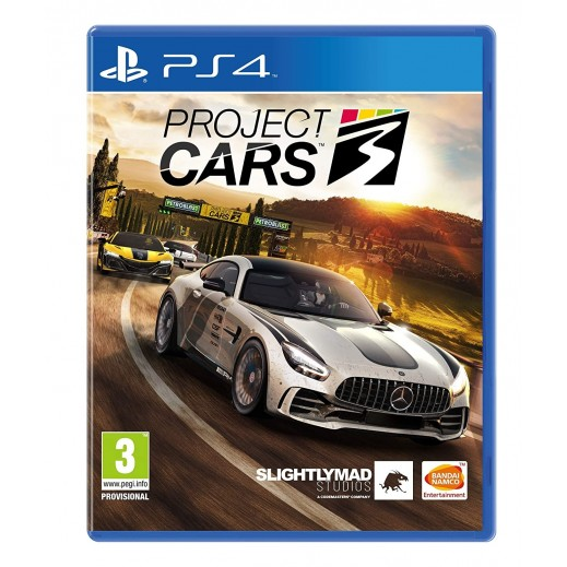 Project Cars 3 for PS4 – PAL