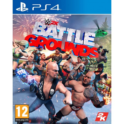 WWE 2K Battlegrounds for PS4 – PAL