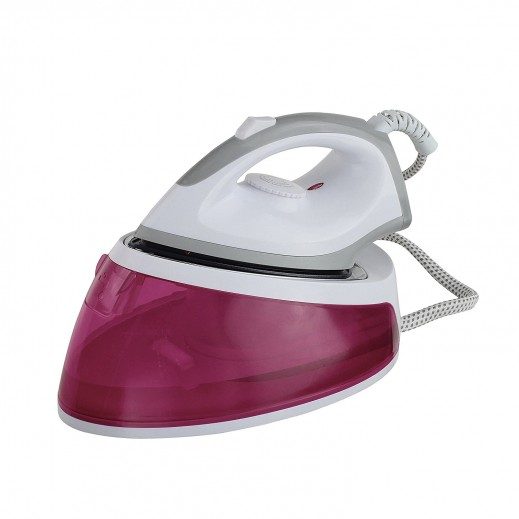 Domo Clip Steam Iron 1.8 L - Rouge