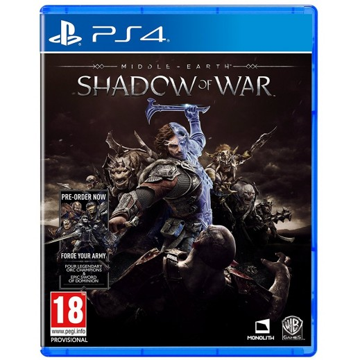 Middle-Earth: Shadow Of War for PS4 - PAL (Arabic)