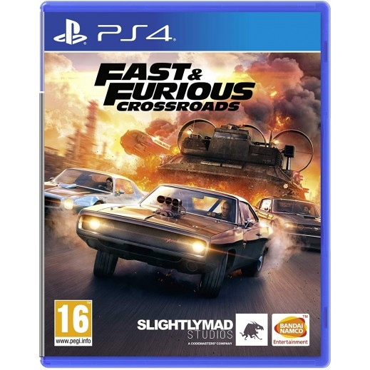 Fast & Furious Crossroads for PS4 – PAL