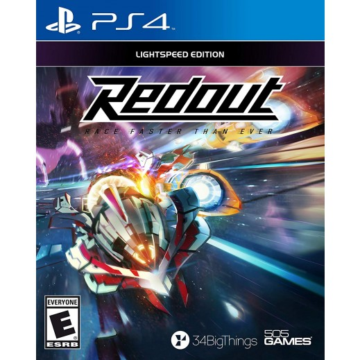 Redout Lightspeed Edition for PS4 – NTSC