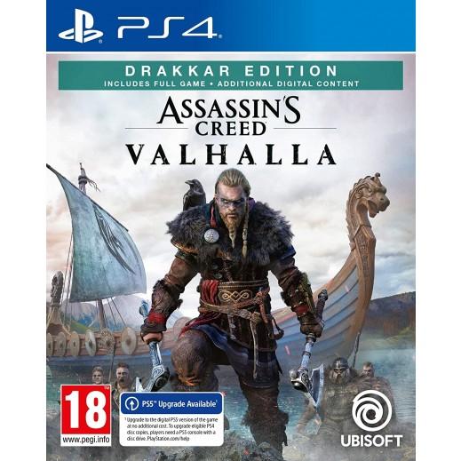 Assassins Creed Valhalla Drakkar Edition for PS4 – PAL