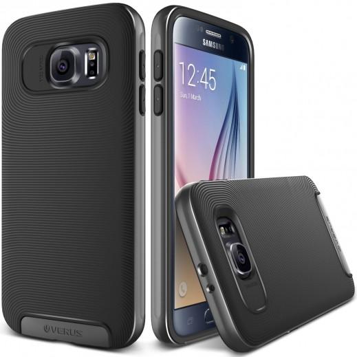 Verus Crucial Bumper Case For Samsung Galaxy S6 Steel Silver