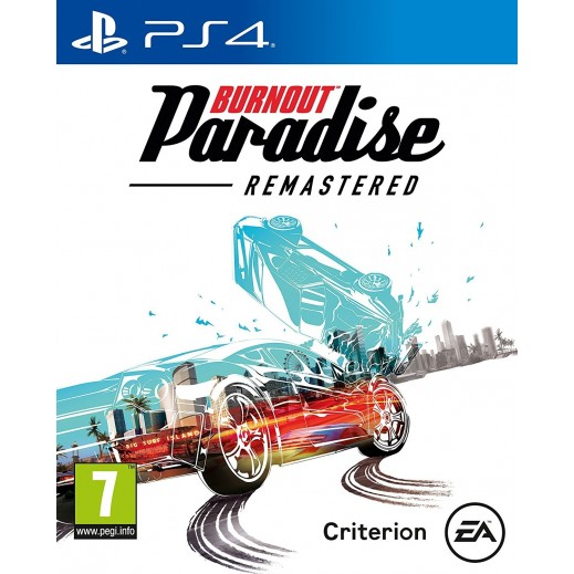 Burnout Paradise Remastered for PS4 - PAL