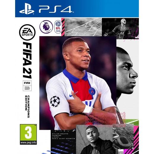 FIFA 21 Champions Edition PS4 – PAL (Arabic)