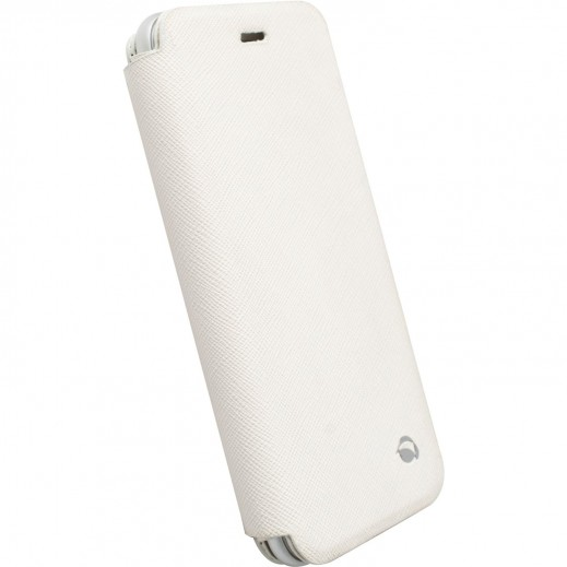 Krusell Malmo Flip Case For Iphone 6- White