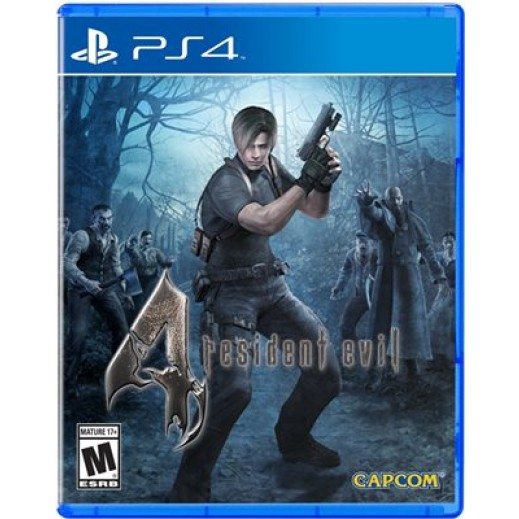 Resident Evil 4 for PS4 - NTSC