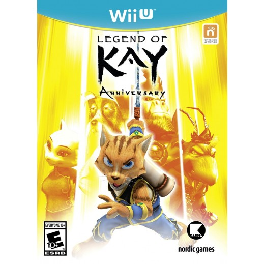 Legend of Kay Anniversary for Wii U - NTSC