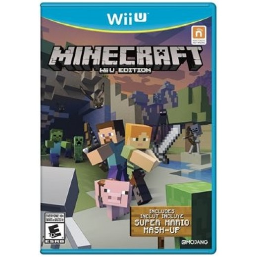 Minecraft for Nintendo Wii U - NTSC
