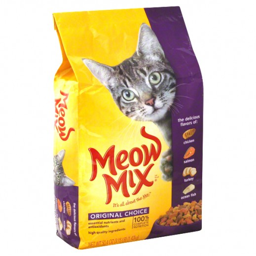 Meow Mix Original (Cats Food) 1.42 kg