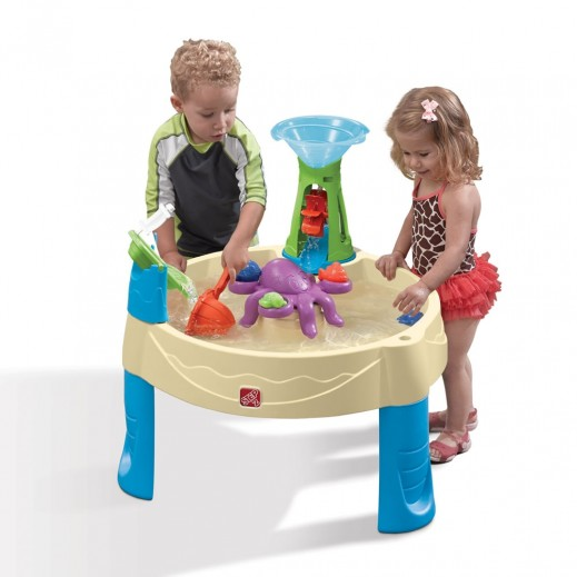 Step2 Wild Whirlpool Water Table - Beige - delivered by Shahaleel